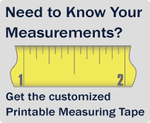 Know Your Measurements? Get the customized printable measuring tape!